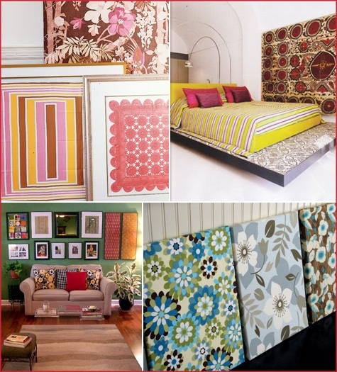 Wall Art Designs: Awesome Large Fabric Wall Art Professional With Large Fabric Wall Art (Image 15 of 15)