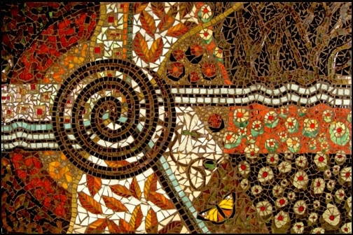 Featured Image of Abstract Mosaic Art On Wall