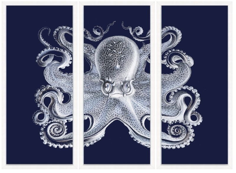Wall Art Designs: Awesome Navy Blue Wall Art, Navy Blue Wall Regarding Navy Canvas Wall Art (Image 15 of 15)