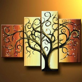 Wall Art Designs: Beautiful Gallery Of Canvas Wall Art Trees With With Regard To Canvas Wall Art Of Trees (Image 12 of 15)