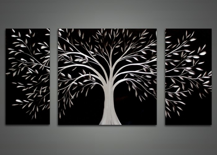 Wall Art Designs Black Wall Art Black Abstract Tree Metal Wall Pertaining To Abstract Metal Wall Art Painting (Image 13 of 15)