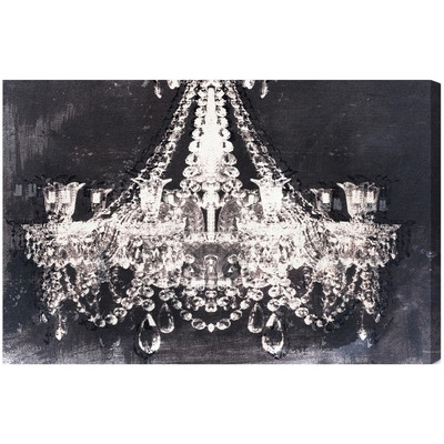 Wall Art Designs: Chandelier Wall Art Oliver Gal Dramatic Entrance For Chandelier Canvas Wall Art (View 3 of 15)