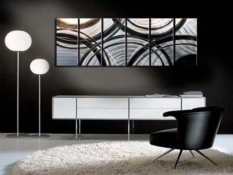 Wall Art Designs: Contemporary Wall Art Decor Buy Metal Modern Throughout Modern Wall Accents (Image 15 of 15)