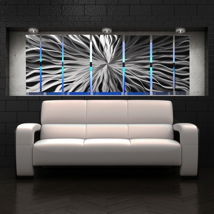 Wall Art Designs: Contemporary Wall Art Decor Cosmic Energy Large With Regard To Light Abstract Wall Art (View 4 of 15)