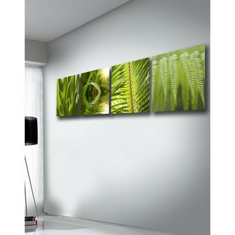 Wall Art Designs: Cool High Pixel Green Canvas Wall Art With Best Inside Leaves Canvas Wall Art (View 5 of 15)