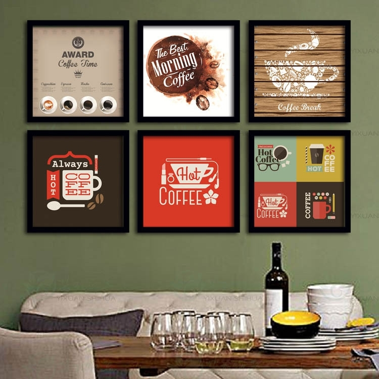 Wall Art Designs For Business Office Framed Wall Art Artwork Intended For Framed Coffee Art Prints (Image 15 of 15)