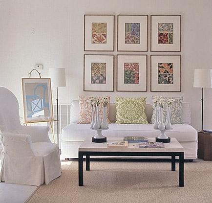 Wall Art Designs: Framed Fabric Wall Art Making Panels Blue Regarding White Fabric Wall Art (View 12 of 15)