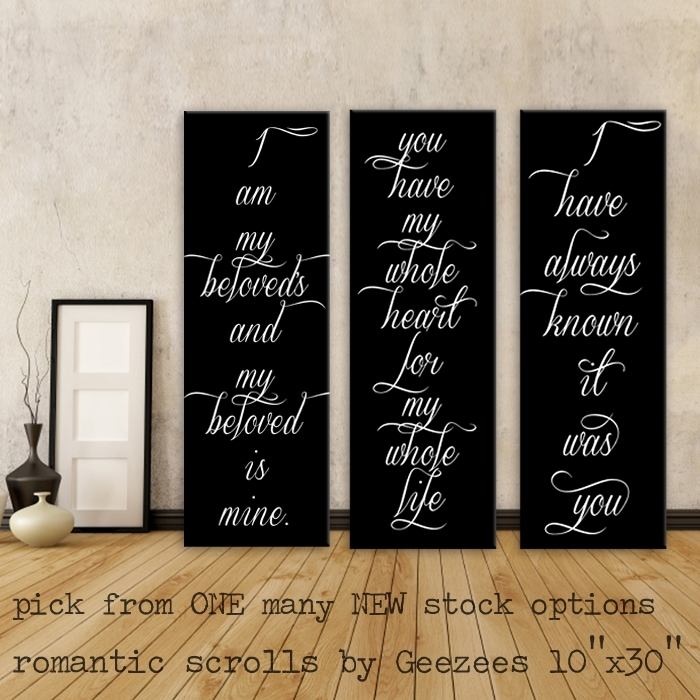Featured Image Of Love Quotes Canvas Wall Art