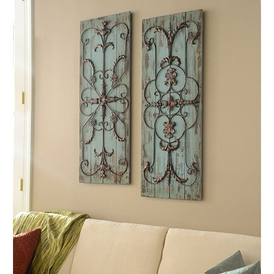 Wall Art Designs: Kirkland Wall Art Adelaide Wall Plaque Set Of 2 In Kirklands Canvas Wall Art (View 6 of 15)