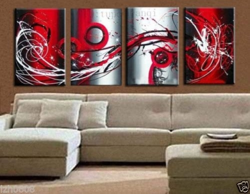 Wall Art Designs: Large Modern Wall Art Large Modern Abstract Art With Modern Abstract Huge Oil Painting Wall Art (View 12 of 15)