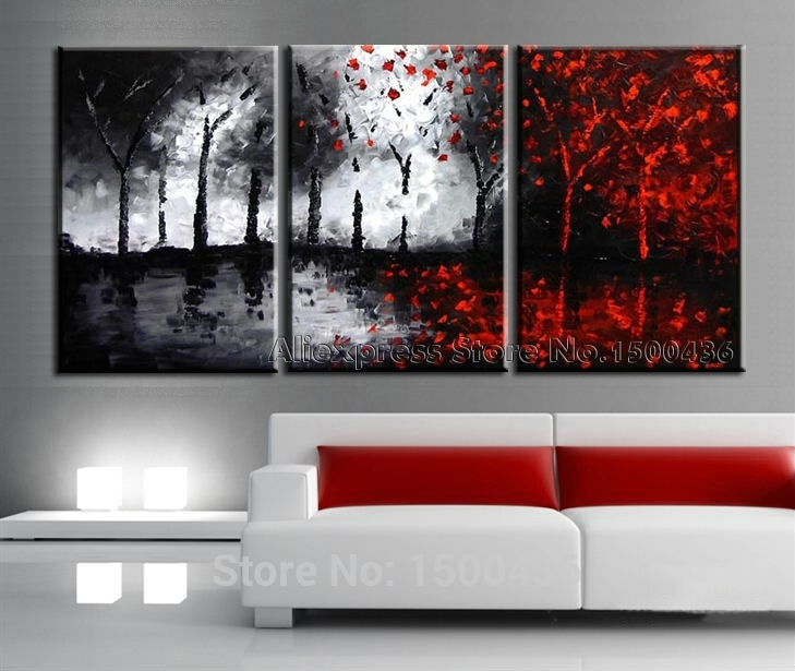 Wall Art Designs: Large Wall Art Cheap For Home, Big Canvas Framed With Regard To Large Red Canvas Wall Art (View 14 of 15)