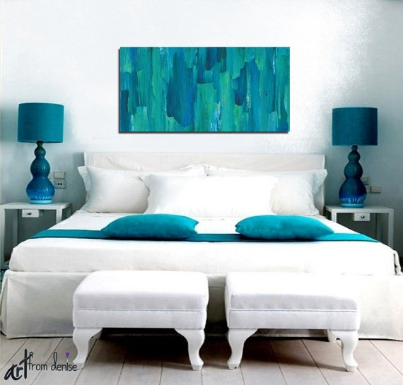 Wall Art Designs: Modern Canvas Wall Art Abstract Floral Painting Regarding Bedroom Canvas Wall Art (Image 30 of 32)