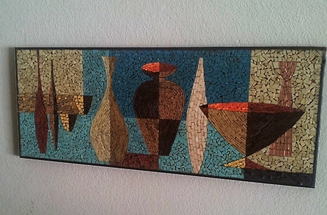 Wall Art Designs: Mosaic Wall Art Ceramic Wall Art Panels And Intended For Abstract Mosaic Art On Wall (Image 15 of 15)