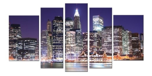 Wall Art Designs: New York City Canvas Wall Art Bridge Canvas Wall For Canvas Wall Art Of New York City (Image 13 of 15)