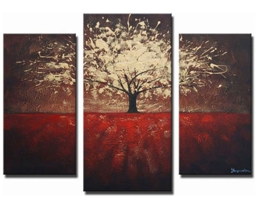 Wall Art Designs: Nice 3 Piece Wall Art, Prints On Canvas 3 Piece For Canvas Wall Art Of Trees (Image 15 of 15)