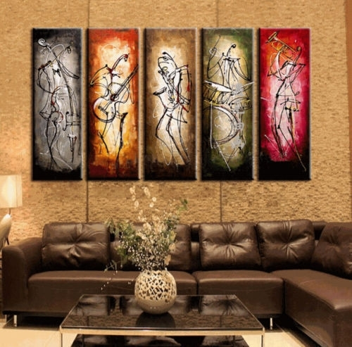 Wall Art Designs: Top 20 Wall Art Paintings, Canvas Prints From Regarding Modern Abstract Huge Oil Painting Wall Art (Image 15 of 15)