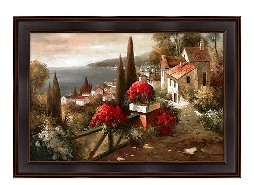 Wall Art Designs: Tuscan Wall Art Tuscan Flowers Canvas Wall Art Within Canvas Wall Art At Wayfair (Image 13 of 15)