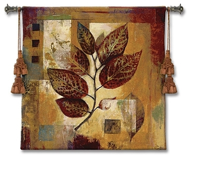 Wall Art Designs: Wall Art Metal Floral Life Tapestry Wall Art For Abstract Leaf Metal Wall Art (View 14 of 15)