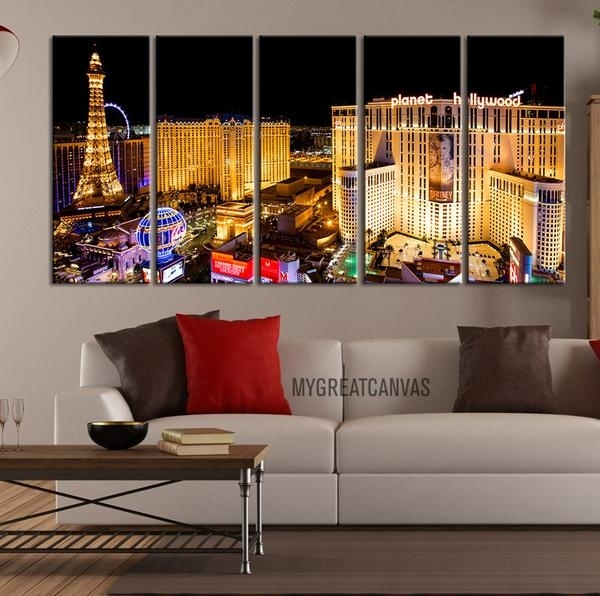 Wall Art Designs: Where To Buy Wall Art Large Wall Art Canvas Within Las Vegas Canvas Wall Art (View 2 of 15)