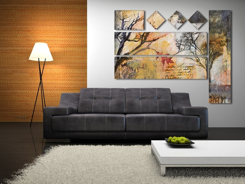 Wall Art: Gallery Of Panel Canvas Wall Art 3 Panel Canvas Wall In Multi Panel Canvas Wall Art (Image 4 of 5)