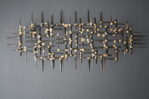 Wall Art Ideas Design Artistic Metal Art Wall Sculpture Suitable Regarding Abstract Metal Wall Art Sculptures (View 13 of 15)