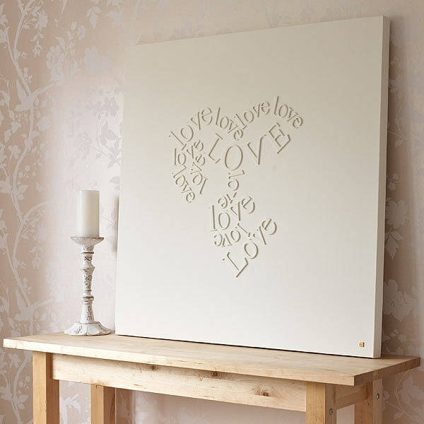 Wall Art Ideas Design : Baby Items Wall Art Letters Wood Metacllic Intended For Letters Canvas Wall Art (View 12 of 15)