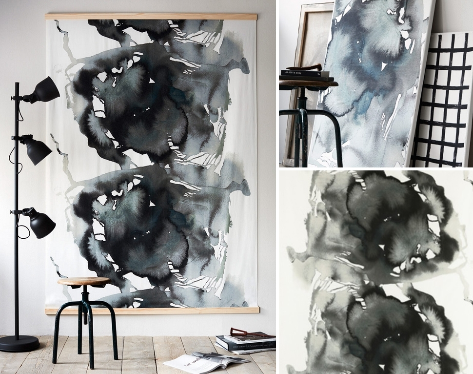Wall Art Ideas To Help You Deal With Bare Walls Dilemma - Craft-Mart with regard to Ikea Fabric Wall Art