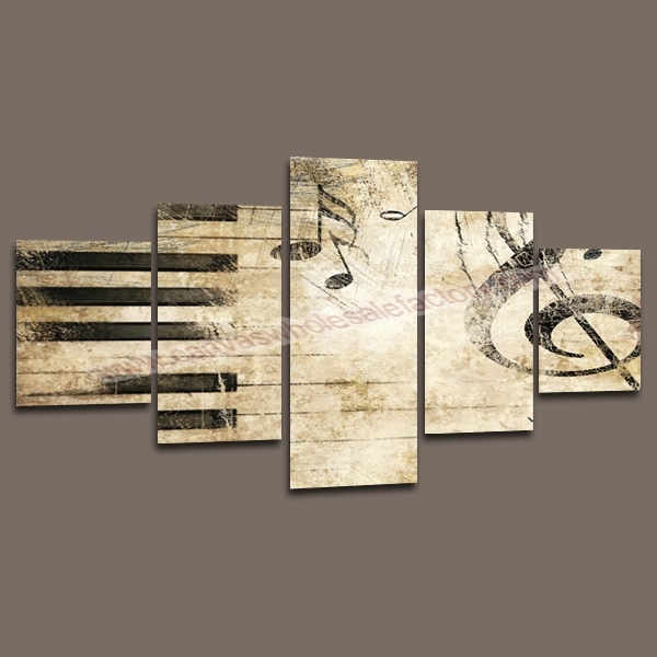 Featured Image of Music Canvas Wall Art