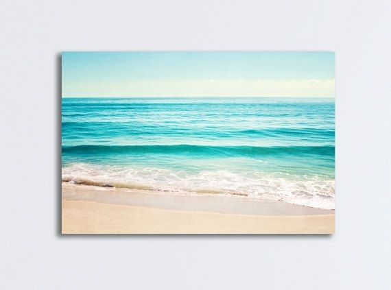 Wall Art: Marvelous Design About Beach Canvas Wall Art Beach With Regard To Ocean Canvas Wall Art (Image 15 of 15)