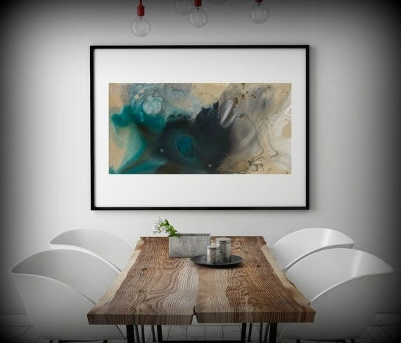 Wall Art Print Large Canvas Abstract Art Abstract Print Large Within Ottawa Abstract Wall Art (View 3 of 15)