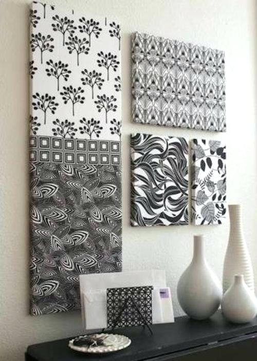 Wall Art With Fabric – Katecaudillo Throughout Wall Art Fabric Prints (View 14 of 15)