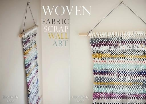 Wall Art With Fabric – Katecaudillo Throughout Woven Fabric Wall Art (Image 14 of 15)