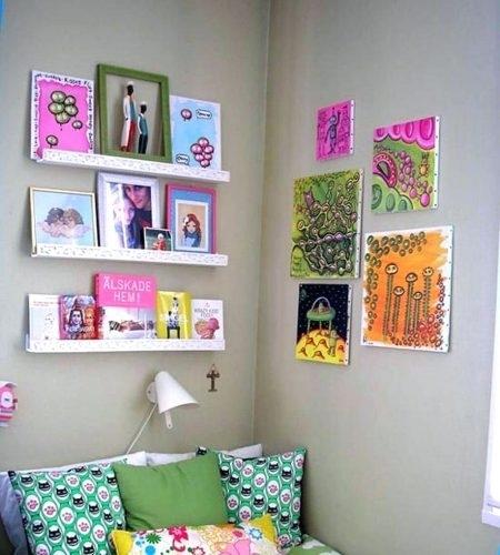 Wall Arts ~ Diy Fabric Covered Wall Art Framed Fabric Wall Art Diy In Fabric Covered Squares Wall Art (Image 14 of 15)