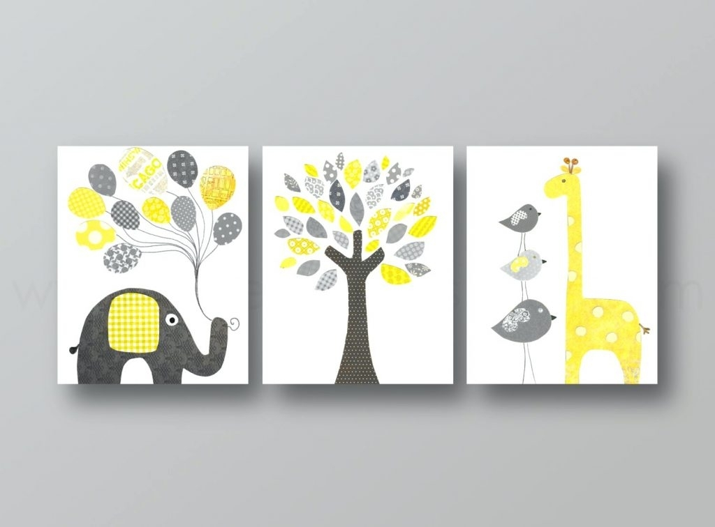 Wall Arts ~ Nursery Canvas Wall Art Nursery Canvas Wall Art Uk Regarding Modern Nursery Canvas Wall Art (Image 15 of 15)