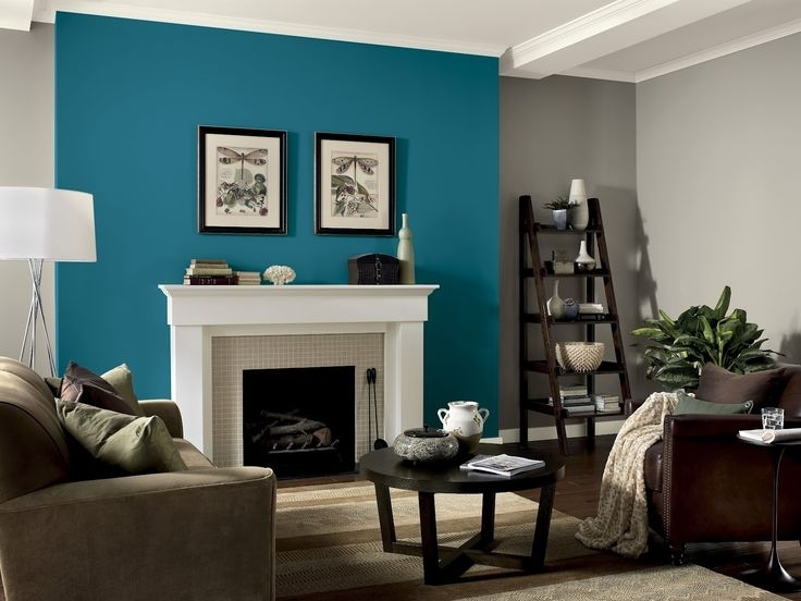 Wall Color Accents – Khabars Pertaining To Wall Accents With Paint (Image 13 of 15)