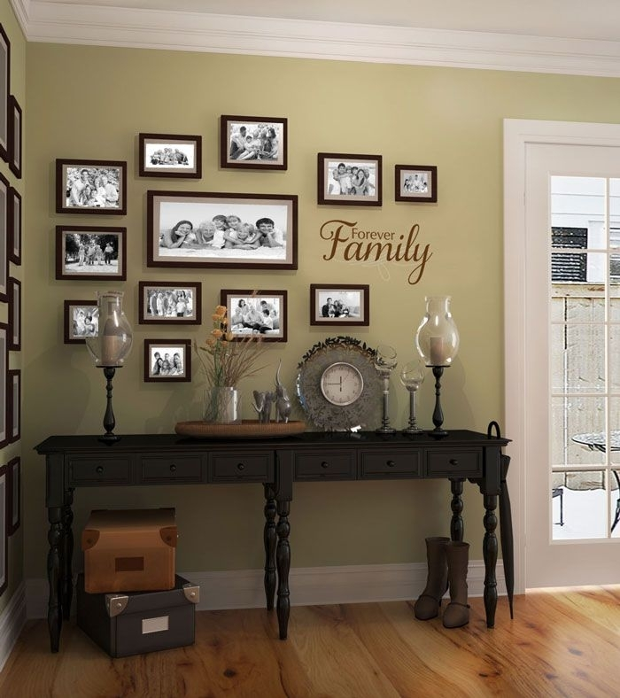 Wall Decor: Awesome Entrance Wall Decor Ideas Entry Walls Regarding Entryway Wall Accents (View 9 of 15)