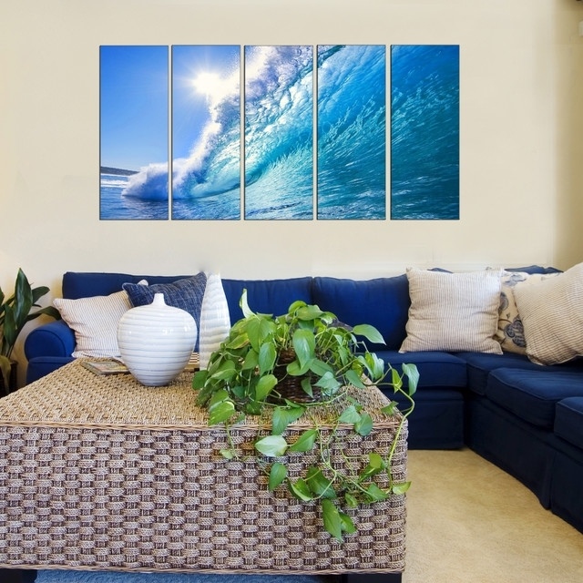 Wall Decor: Beautiful Beach Wall Decor For Living Room Wayfair With Beach Themed Canvas Wall Art (Image 15 of 15)