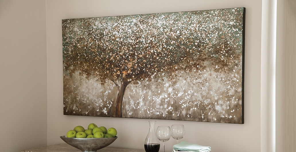 Wall Decor | Don't Leave Your Wall Hanging | Ashley Furniture With Rectangular Wall Accents (View 2 of 15)
