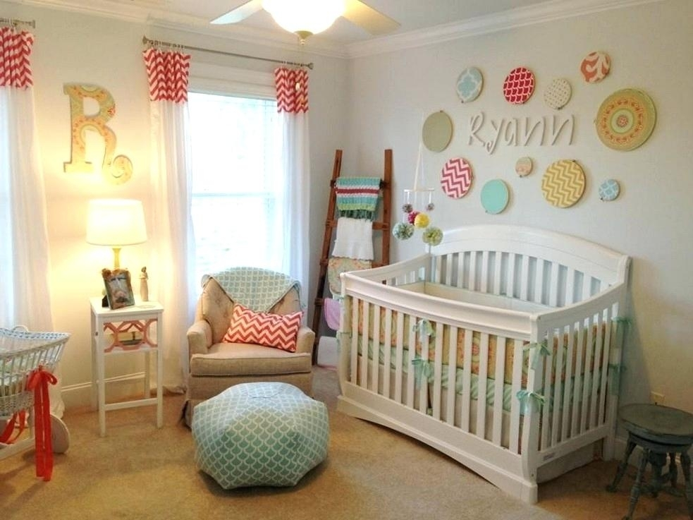 Wall Decor For Nursery Wall Decor For Baby Nursery Accent Wall Regarding Nursery Wall Accents (View 13 of 15)