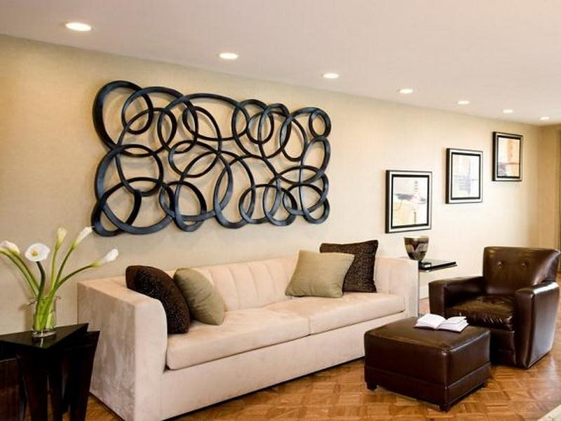Wall Decor Ideas Above Sofa : Utrails Home Design – Suspended Wall Throughout Amazon Wall Accents (Image 9 of 15)