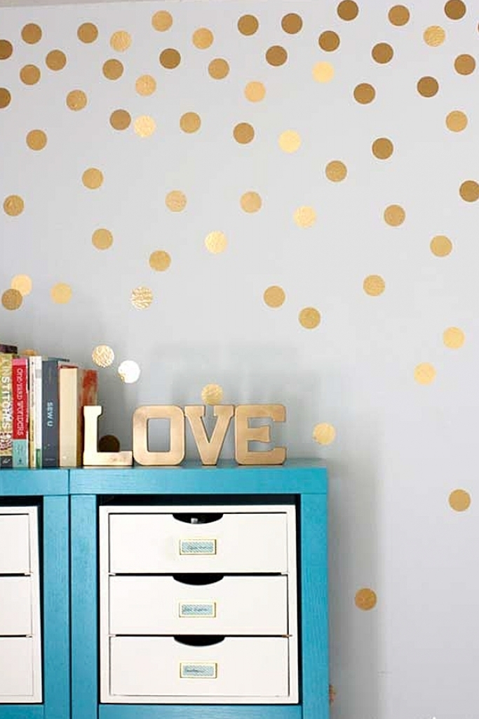 Wall Decor Ideas For Bedroom Cool Cheap But Cool Diy Wall Art Within Diy Wall Accents (Image 14 of 15)