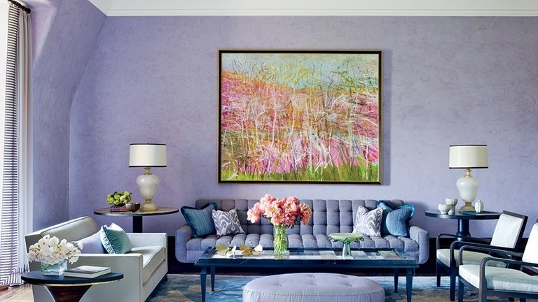 Wall Decor Ideas & Paint Color Guide | Architectural Digest Within Wall Accents Without Paint (Image 13 of 15)
