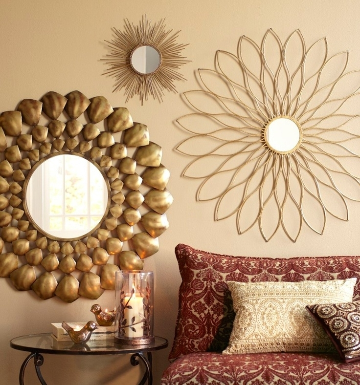 Wall Decor Mirrors Wall Decor Mirror Home Accents Novicapco With Custom Wall Accents (Image 14 of 15)