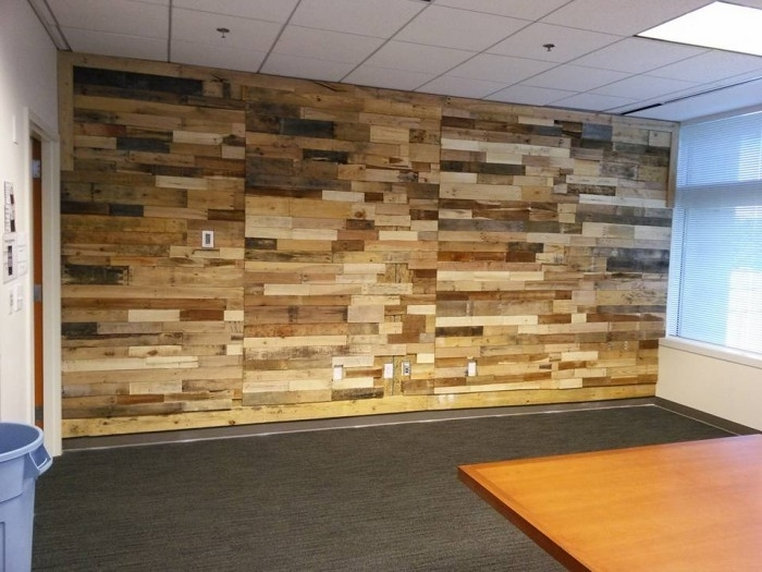 Wall Decor | Pallet Ideas: Recycled / Upcycled Pallets Furniture For Wood Pallets Wall Accents (Image 13 of 15)