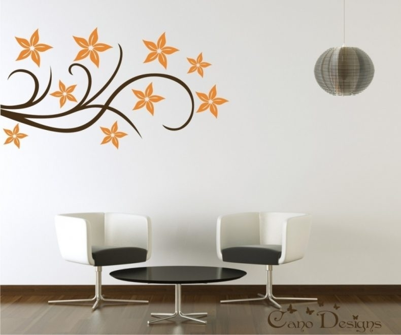 Wall Decor Stickers Throughout Wall Accents Stickers : The Most Intended For Wall Accents Stickers (Image 15 of 15)