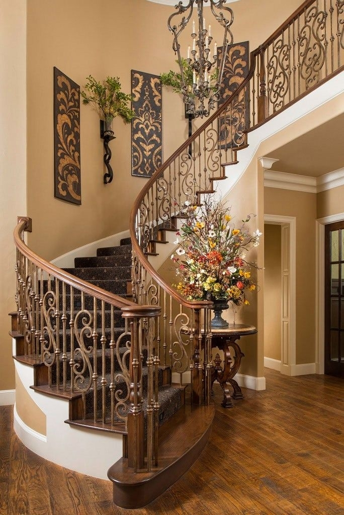 Wall Decor: Stunning Stairway Wall Decor Stairway Wall Art, Custom With Regard To Staircase Wall Accents (Image 15 of 15)