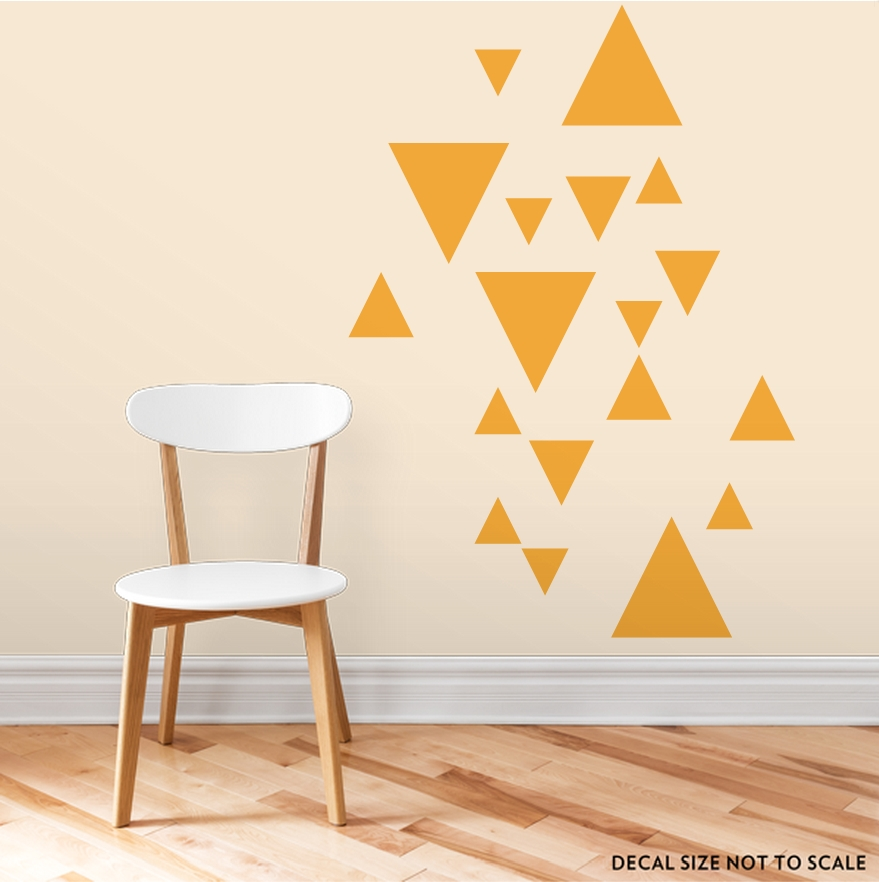 Wall Decor | Wallums Wall Decor Regarding Geometric Shapes Wall Accents (View 3 of 15)