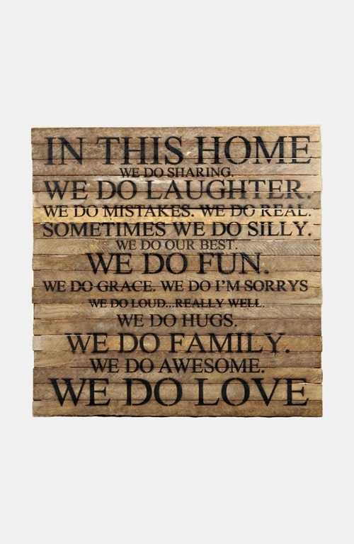 Wall Decor: Wooden Wall Decor Quotes Wooden Wall Decor With Quotes Within Pier One Abstract Wall Art (Image 15 of 15)
