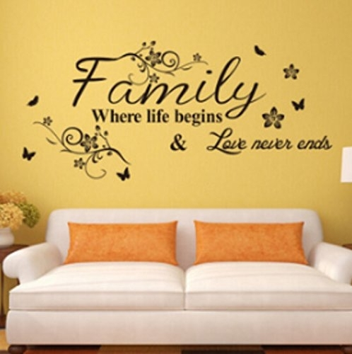 Wall Decorations For Living Room Amazon – Meliving #8F6E97Cd30D3 With Amazon Wall Accents (Image 12 of 15)