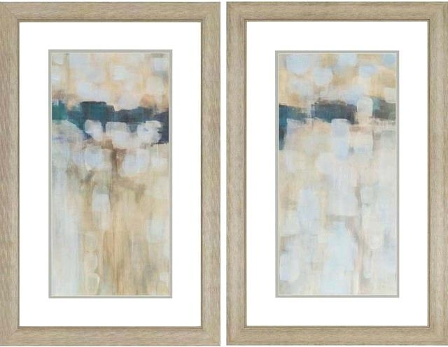 Wall Framed Art Carbon Neutral Artwork Set Of 2 Contemporary In Framed Art Prints Sets (View 11 of 15)